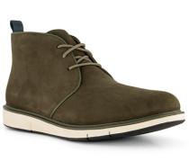Schuhe Desert Boots Nubukleder oliv