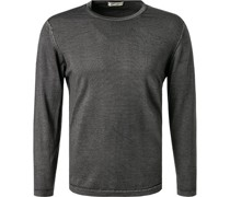 Pullover Wolle graphit