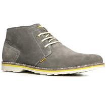 Herren Schuhe Desert Boots Veloursleder hellgrau