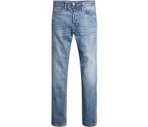 Herren Jeans Baumwolle blau