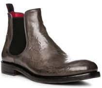 Schuhe Chelsea Boots, Leder, grigio