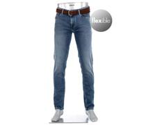 Jeans Pipe Regular Fit Baumwoll-Stretch 9oz