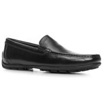 Herren Schuhe Slipper Glattleder