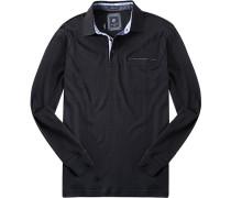 Herren Polo-Shirt Baumwoll-Jersey dunkel