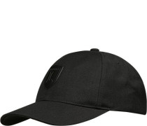 Herren Cap, Wolle, schwarz