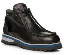 Herren Schuhe Boots Kalbleder schwarz beige