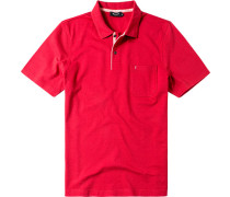 Herren Polo-Shirt Baumwolle rot