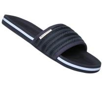 Herren Schuhe Sandalen, Textil, navy blau