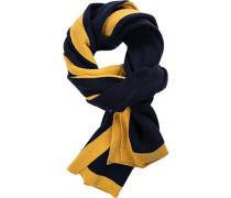 Schal Kaschmir-Wolle dunkel-gelb