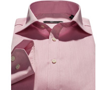 Hemd Slim Fit Twill wildrose