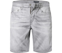 Herren Jeans Shorts Shaped Fit Baumwoll-Stretch