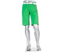 Herren Hose Bermudashorts Master, Modern Fit, 3xDry Cooler, grün