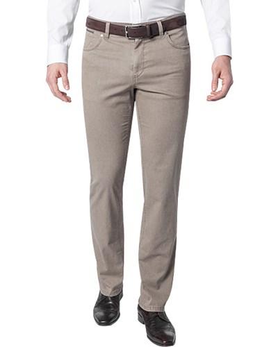hiltl herren herren jeans baumwoll stretch beige meliert. Black Bedroom Furniture Sets. Home Design Ideas
