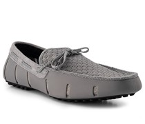 Bootsschuhe Kautschuk-Leder -schwarz