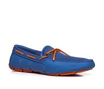 Herren Schuhe Loafers Mesh-Kautschuk-Mix azurblau blau,blau