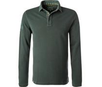 Herren Polo-Shirt, Baumwolle, grün