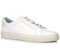 Herren Schuhe Sneaker, Leder, weiß