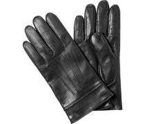 Herren ROECKL Handschuhe Leder schwarz