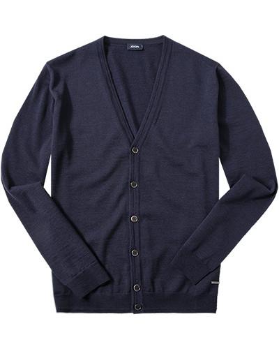 joop herren herren cardigan schurwolle navy blau reduziert. Black Bedroom Furniture Sets. Home Design Ideas