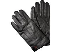 Herren strellson Handschuhe Schafleder schwarz