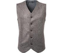 Pullover Strickweste, Wolle,  kariert