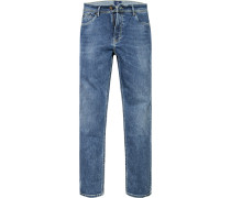 Herren Jeans Modern Fit Baumwoll-Stretch denim