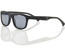 Herren Brillen Sonnenbrille, Kunststoff, schwarz