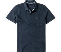 Herren Polo-Shirt Baumwolle nachtblau