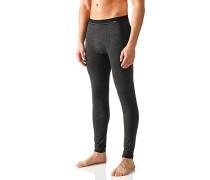 Herren Lange Unterhose Techno-Wool klimaregulierend anthrazit grau