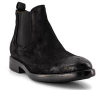 Schuhe Chelsea-Boots Veloursleder