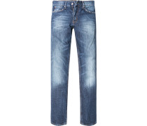 Herren Jeans Regular Cut Baumwolle