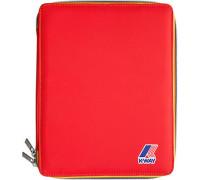 Herren K-Way IPAD-Tasche Microfaser rot