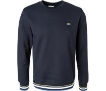 Herren Sweatshirt, Baumwolle, marineblau
