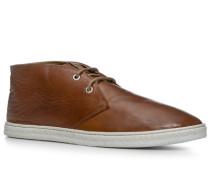 Herren Schuhe Desert Boots Nappaleder cognac braun