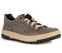 Schuhe Sneaker Leder grün