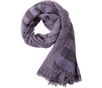 Herren Schal Wolle-Modal violett