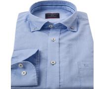 Herren Hemd, Comfort Fit, Oxford, hellblau