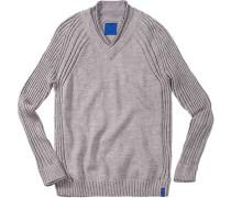Herren Pullover Woll-Mix