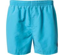 Herren Bademode Bade-Shorts Microfaser hellblau