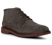 Herren Schuhe Desert Boots Veloursleder graphit grau