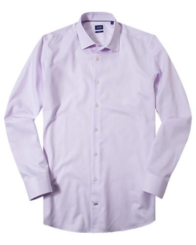 Hemd, Slim Fit, Oxford, flieder