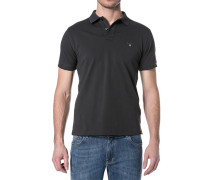 Herren Polo-Shirt Regular-Fit Baumwoll-Piqué graphit