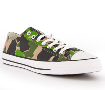 Schuhe Sneaker Textil camouflage