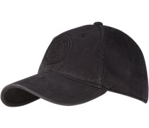 Herren   Cap Baumwolle schwarz