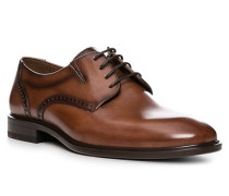 Schuhe Derby Koog Kalbleder cognac