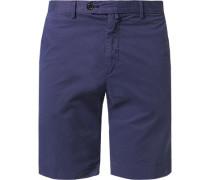 Herren Hose Shorts, Baumwolle, dunkelblau