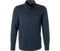 Polo-Shirt, Casual Modern Fit, Baumwoll-Jersey