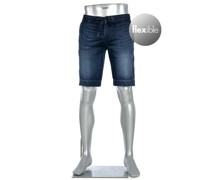 Jeansshorts House, Tapered Fit, Baumwoll-Stretch