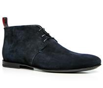 Herren Schuhe Desert Boot Veloursleder nachtblau