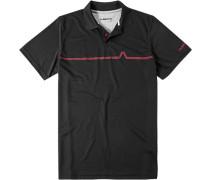 Herren Polo-Shirt Coolmax® schwarz